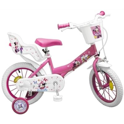 "Toim - Bicicleta 14"" Minnie Mouse Club House Fete"