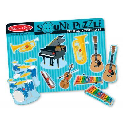 Melissa&Doug - Puzzle sonor Instrumente muzicale