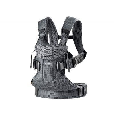 BabyBjorn - Marsupiu ergonomic One Air 0-3 ani Anthracite 3D Mesh