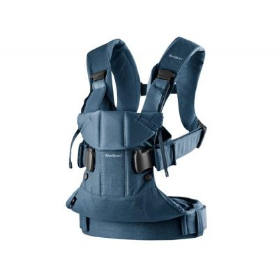BabyBjorn - Marsupiu ergonomic One 0-3 ani Denim Midnight Blue