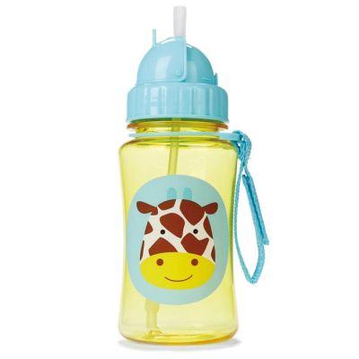 Skip Hop - Sticla cu pai Zoo Girafa