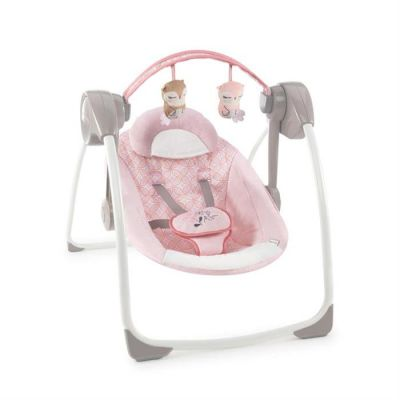 Bright Starts - Leagan portabil comfort 2 Audrey