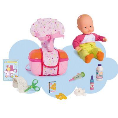 Nenuco - Papusa Soft cu set de prim ajutor