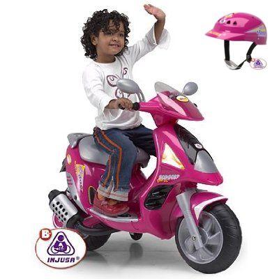 Injusa - Scooter Motorbike Duo Girl 6V