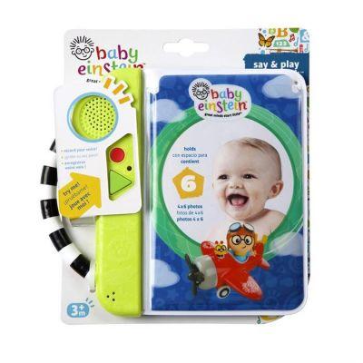 Baby Einstein - Carticica cu inregistrare voce Say & Play Photobook