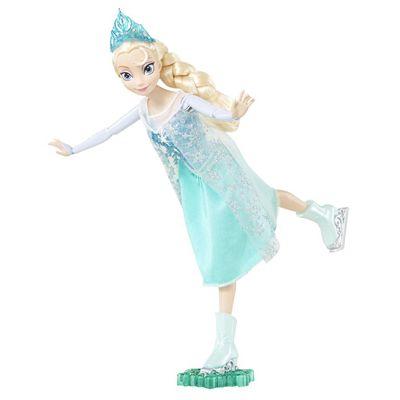 Mattel - Disney Princess Papusa Elsa pe patine