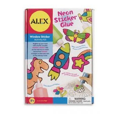 Alex Toys - Abtibilduri de desenat in culori neon