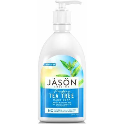Jason - Sapun lichid anti-bacterian cu Tea Tree pentru fata si maini 473ml