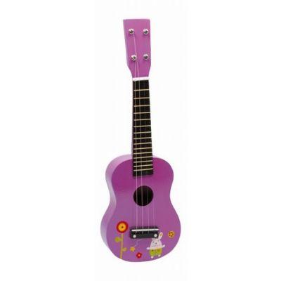 Legler - Chitara lemn roz
