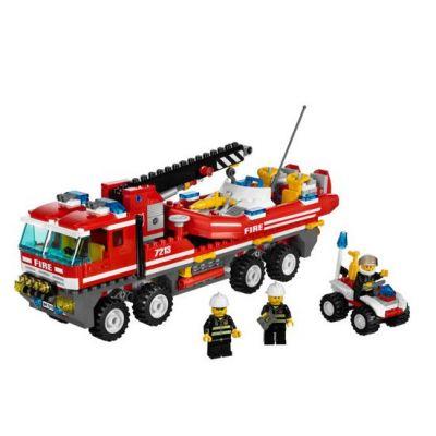 Lego - City camion si barca de pompieri