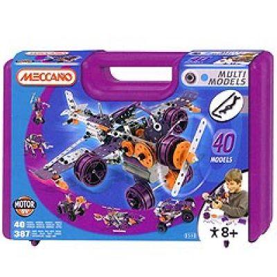 Meccano - Set 40 modele cu Motor