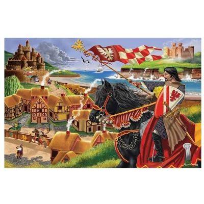 Melissa&Doug - Puzzle de podea Epoca Medievala