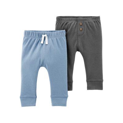 Set 2 piese pantaloni cu nasturi Carters
