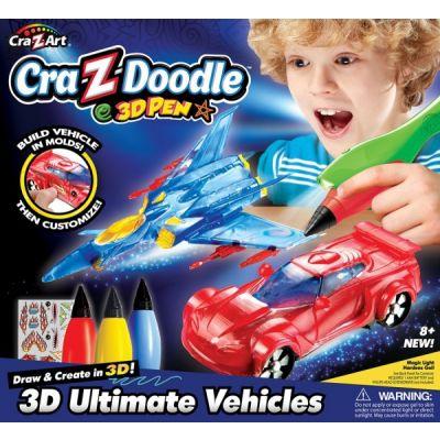 Cra Z Art - Set creatie 3D Ultimate Vehicles