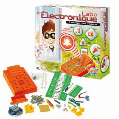 Buki - Jucarie laboratorul de electronica