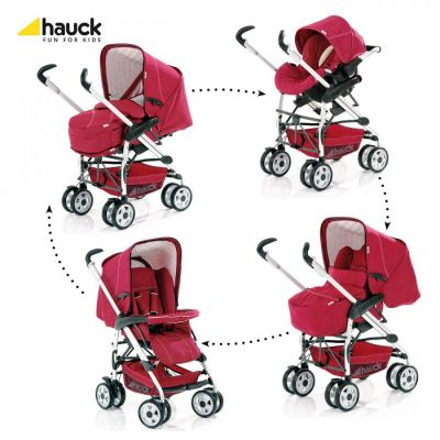 Hauck - Carucior 3 in 1 Eagle Trio