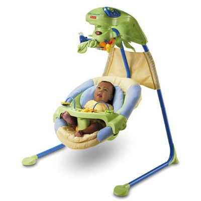 Fisher Price - Leagan Baby Papasan Cradle