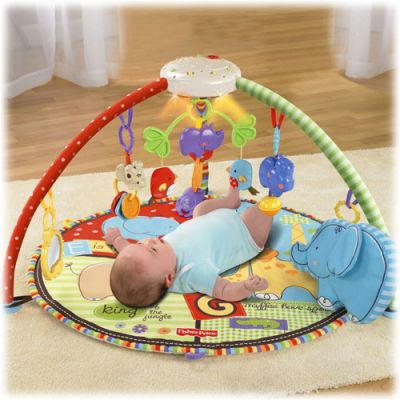 Fisher Price - Centru activitati Love u Zoo Deluxe Musical Mobile