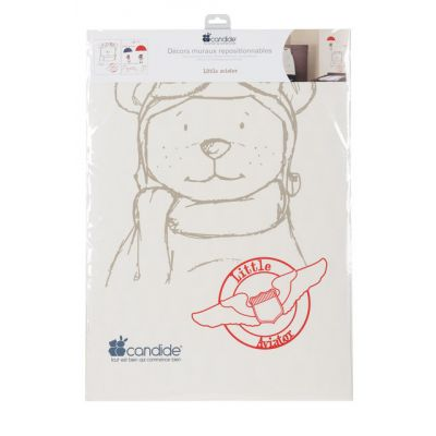 Candide - Sticker de perete Little Aviator