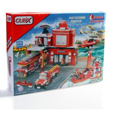 Cublo - Jucarie Prima mea statie de pompieri