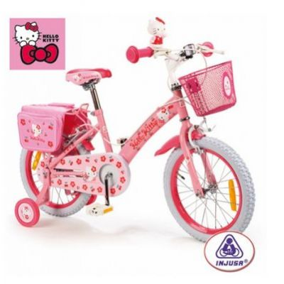 Injusa - Bicicleta copii Hello Kitty 16