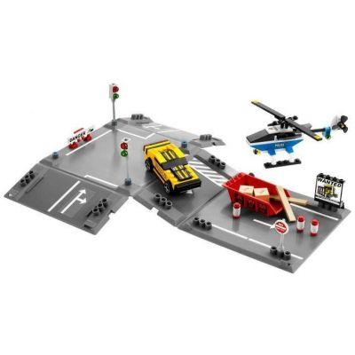 Lego - Racers salt cu elicopterul