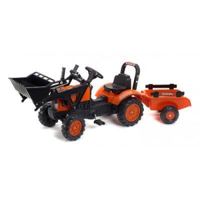 Falk - Tractor Kubota cu Remorca si Excavator
