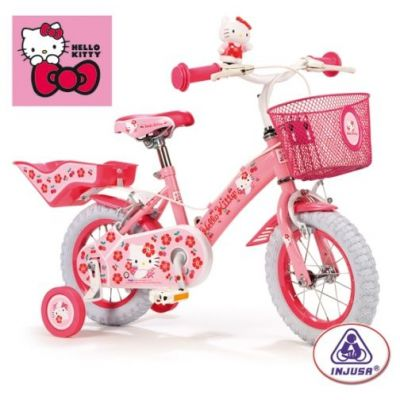 Injusa - Bicicleta copii Hello Kitty 12