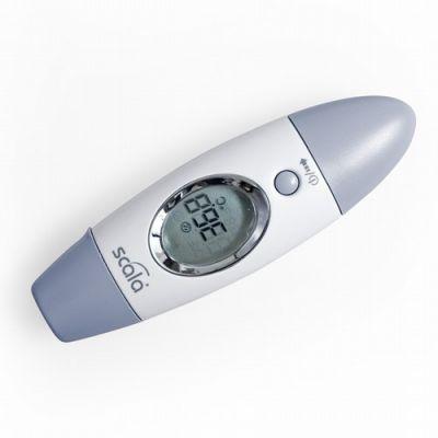Scala Electronic - Termometru infrarosii pentru frunte si ureche