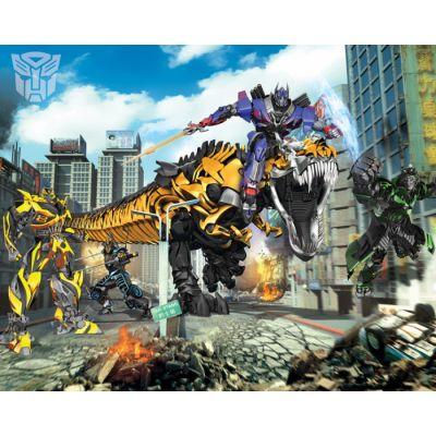 Walltastic - Tapet pentru copii Transformers Exterminarea
