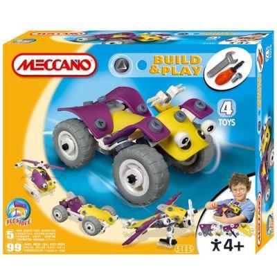 Meccano - Set Build & Play ATV