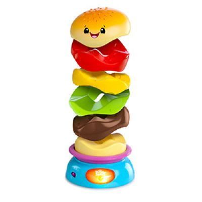 Bright Starts - Jucarie Stack 'n Spin Burger