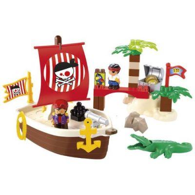 Ecoiffier - Set Constructii Comoara Piratilor
