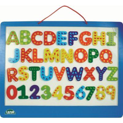 Lena - Tablita magnetica cu numere si litere