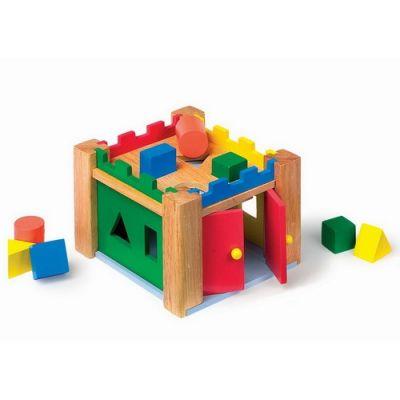 Legler - Castel din lemn cu forme de sortat