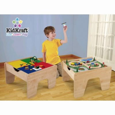 Kid Kraft - Set masuta Lego 2 in 1