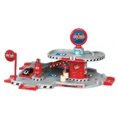 Faro Toys - Garaj auto cu spalatorie si masinuta