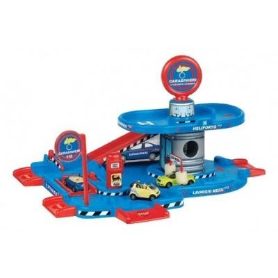Faro Toys - Garaj auto cu etaj si masinuta