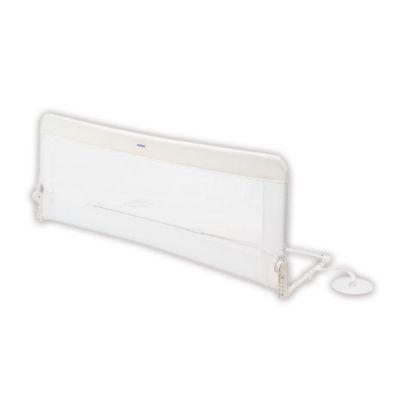Olmitos - Protectie pat rabatabila pentru somiera adancita 150 cm alb