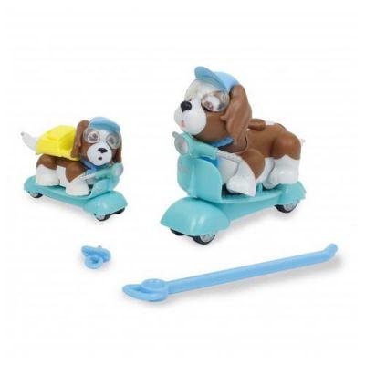 Giochi Preziosi - Pet parade family Catelusi pe scuter