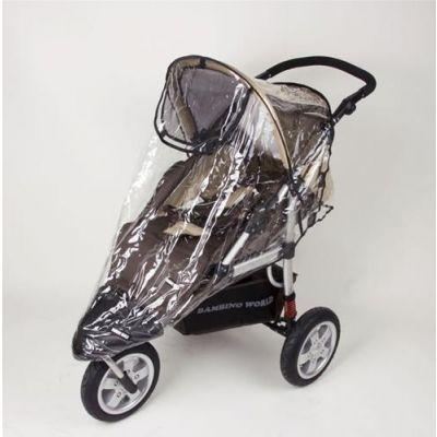Bambino World-husa de ploaie carucior Jogger