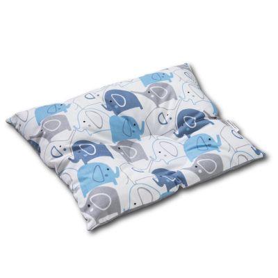 Perna bebelusi contra plagiocefaliei si pentru formarea corecta a capului Kidizi 35x27 cm Blue Elephants