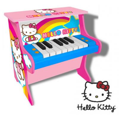Reig Musicals - Pian lemn Hello Kitty
