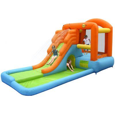 Happy Hop - Complex de joaca topogan cu apa si loc de sarituri