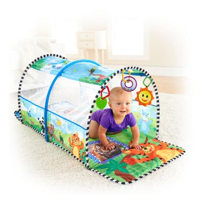 Bright Starts - Tunel Baby Einstein Aventura in Safari