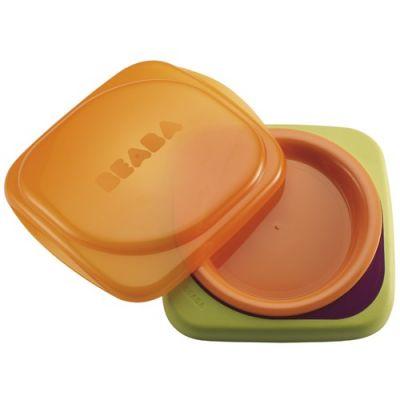 Beaba - Farfurie ermetica  BPA free