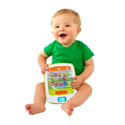 Bright Starts - Mini-tableta cu sunete si lumini Fun Pad