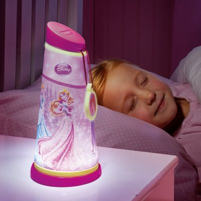 Worlds Apart - Veioza 2 in 1 Go glow Disney