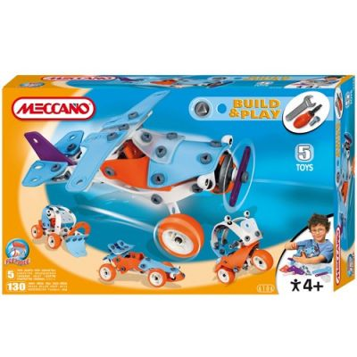 Meccano - Set Build & Play Plane