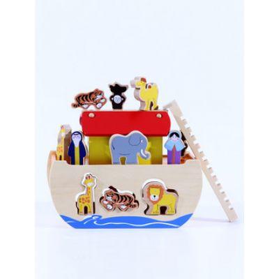 Edu Class - Jucarie lemn Arca lui Noe